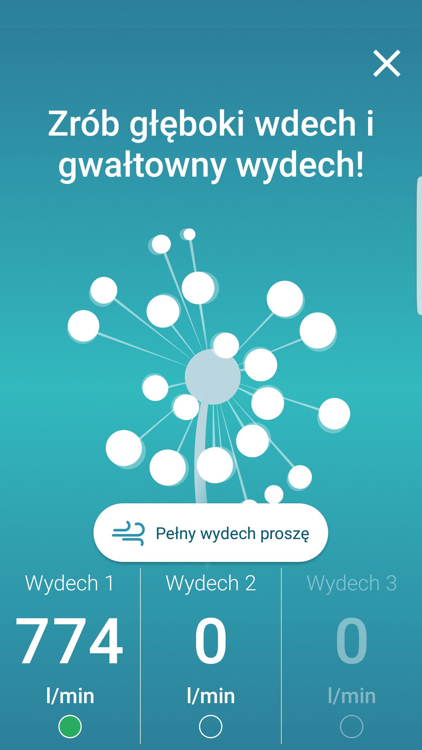 Aplikacja Smart Peak Flow